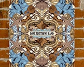 Dave Matthews Band- Official Poster- Jones Beach, NY- Artist Proofs