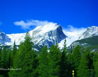Hallet Peak in Spring 8x10 print
