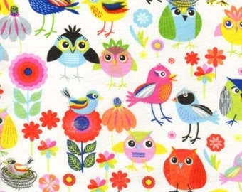 Birds of a Feather Multi - Timeless Treasures 1 yard