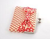 iPad Mini 4 Case,iPad Mini 3 Case,Kindle Fire Case, Ebook Cover,Gifts for Readers, iPad Mini 4 Cover, Kobo Aura Cover -  Red Ivory Bow