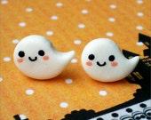 Halloween ghosts - stud earrings
