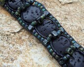 Homage to Eni Leather Bracelet Tutorial PDF - INSTANT Download