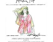 Kayla Kennington's Angel Top pattern #1226 Modular Design for Couture Artwear-FREE SHIPPING