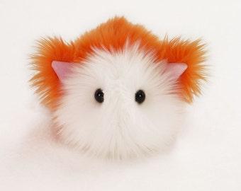Stuffed Cat Stuffed Animal Cute Plush Toy Cat Kawaii Plushie Kit Kat the Kitty Cat Orange Snuggly Cuddly Faux Fur Toy Small 4x5 Inches