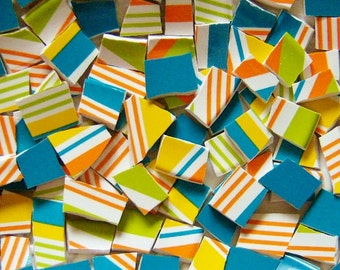 Mosaic Tiles-Jubilee--Custom mix--100 Tiles