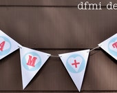 YOU PLUS ME heart banner wedding, birthday or home decoration