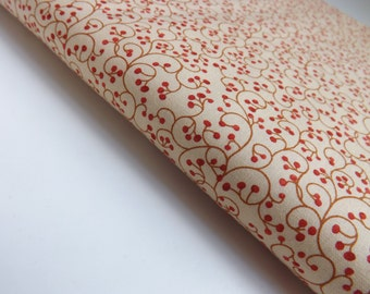 Charisma Chez Moi Moda 16028 21 Berries In Tomato Quilting Sewing Fabric