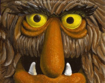 Sweetums muppet print