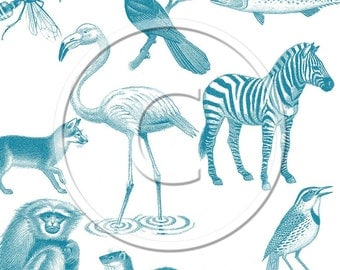 Wildlife Set 3- Photoshop Brushes - Set of 26 different brushes  - scrapbooking - Buy Any 3 Three Dollar Digital Items Get One Free