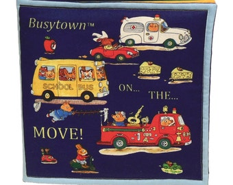 SOFT / CLOTH BOOK - Busytown - Transportation