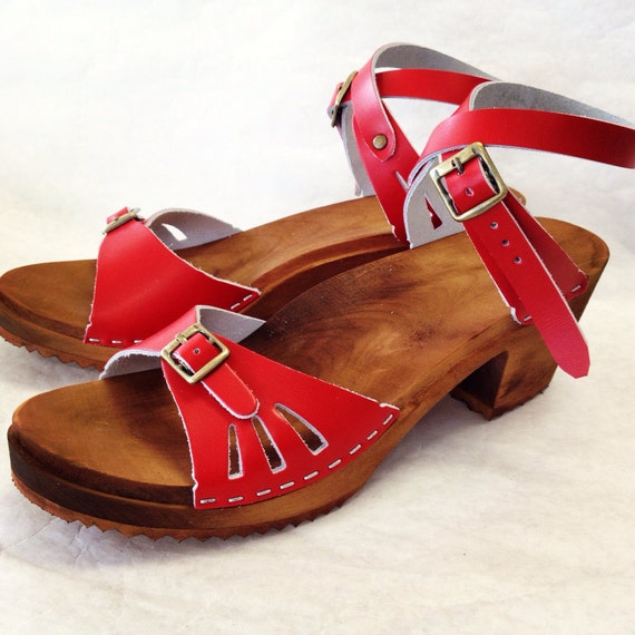 Medium Heeled Sandals from Chameleon Clogs