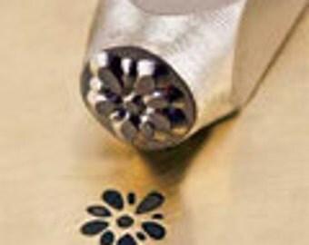 GARDENIA Metal Stamp, Flower Design, ImpressArt Metal Stamp 6mm Jewelry Steel Punch Stamping Tool For Jewelry