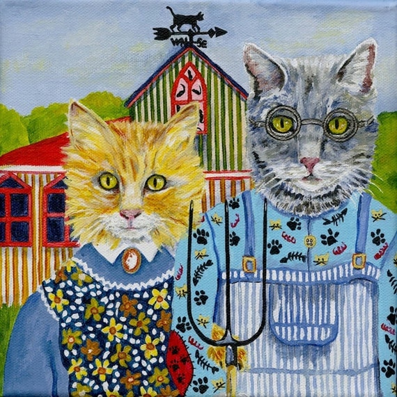 """american gothic interpretation Although the artist of """"american gothic"""" died in 1942, his painting has gone on to   born out of controversy, out of the perception that its meaning was satirical."""