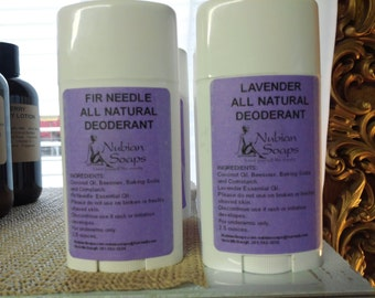 All Natural non-Aluminium Deodorant