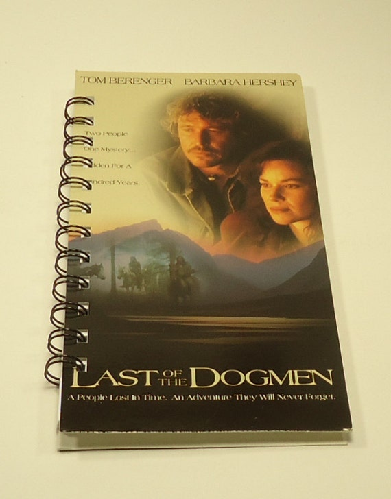 The Last Of The Dogmen Upcycled Spiral Bound Notebook