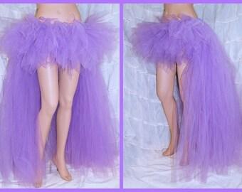 Pastel Lavender Purple trashy bustle TuTu MTCoffinz ALL SIZES