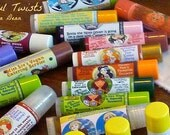 3 Mystery Vegan Lip Conditioners