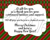 Custom Printable Customer Appreciation Card