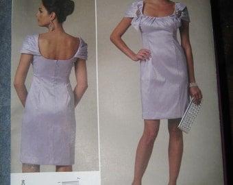 Vogue Badgley Mischka Evening Dress Sz 8-14   V1230   Uncut