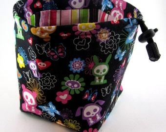 Rainbow Skelanimals Dice Bag