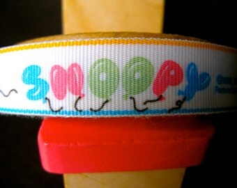 Snoopy Ribbon - New from the 1960s - 5 Yards