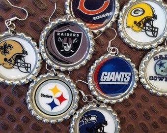NFL Football earrings