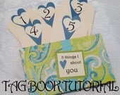 Tag Book Tutorial - 5 Things I Love About You - Intermediate DIY