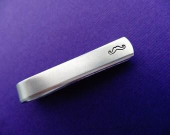 Personalized Tie Bar - Initials - Monogram - Custom Tie Clip