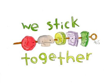 We Stick Together (greeting card)