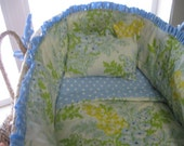 PDF Pattern:  How to Make your Own Moses Basket Bedding and not go crazy