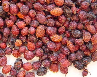 Rose Hips, Whole - 1 Lb