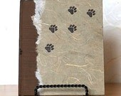 Jakes Journal - Blank or Lined Journal with Paw Prints perfect for Writing, Drawing, Gift Giving, Dog Lovers and Animal Lovers