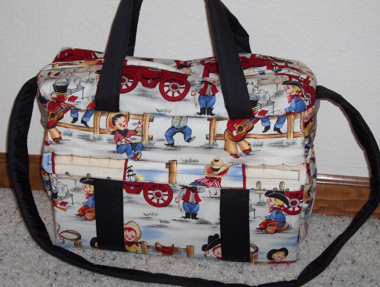 Cowboy Diaper Bags : Cowboy diaper bag w change pad by emijane