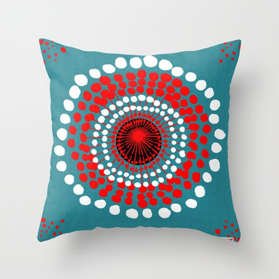 Modern Pillow Cover Design : Items similar to 16x16 Decorative throw pillow cover - Dots pillow cover - Modern pillow cover ...