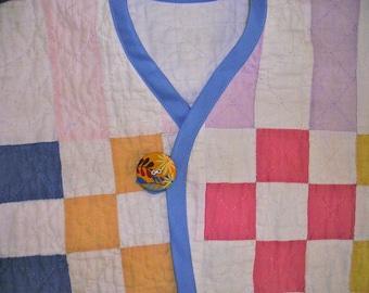 Child Jacket From Vintage Quilt --SALE