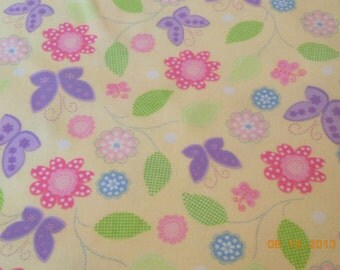 Floral Toddler SIze Pillowcase