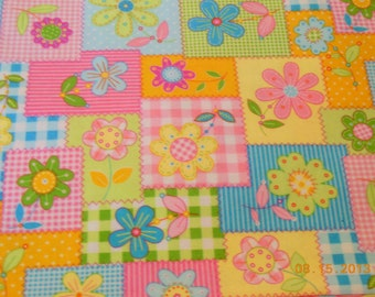 Patchwork Floral Toddler SIze Pillowcase
