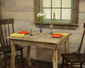 "Driftwood Dining Room Table (""36x27""x29""H)"