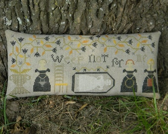 Cross Stitch Pattern from Notforgotten Farm - WEEP NOT
