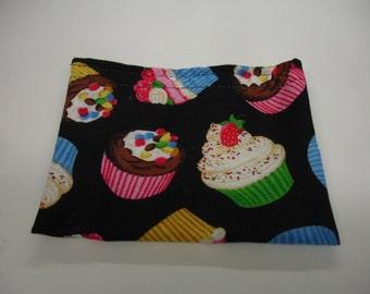 Cupcakes Reusable Snack Bag READY TO SHIP
