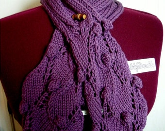 The Grape Vine Scarf Pattern PDF instant down load