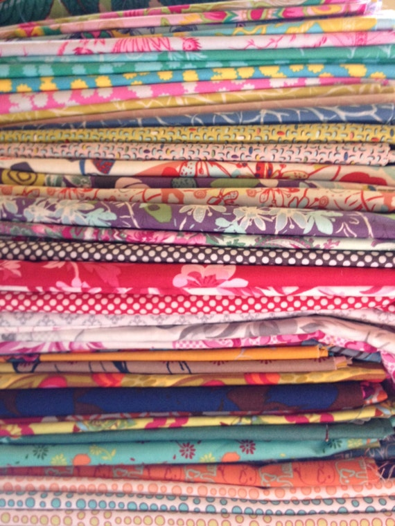 ONE Big Bag of Fabric Scraps