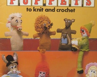 Toys and Puppets to Knit and Crochet Pattern by Leisure Arts