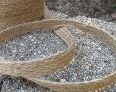 Burlap Ribbon 3 yards Great for all Crafting and Sewing Projects. Rustic. Natural. Weddings.