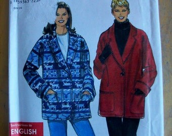 Simplicity 8467 Misses Jacket  Sewing Pattern