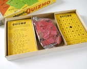 Vintage Phonetic Quizmo • 1957 Milton Bradley Educational • Lotto Game Cards