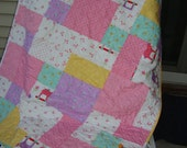 Celebration baby quilt - CLEARANCE