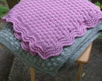 Basket of Love Baby Blanket Pattern