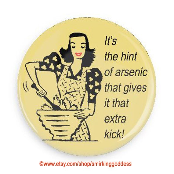Funny Retro Magnet, Sarcastic Magnet, Magnet for Chefs and Foodies