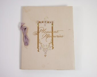 Antique School Award Deportment Book of Quotes 1913 Robert Whiting Acmegraph Pleasant Memories